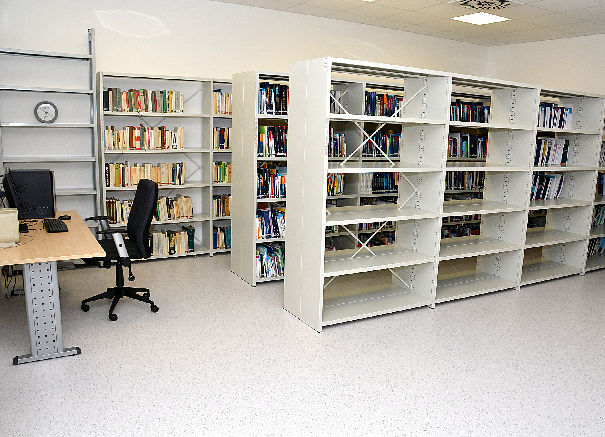 fotografie knihovny